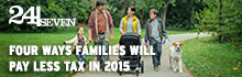 24/Seven: Tax cuts & increased benefits for families